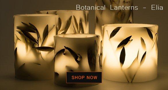 kerino botanical lanterns φανάρια κεριά διακοσμητικά
