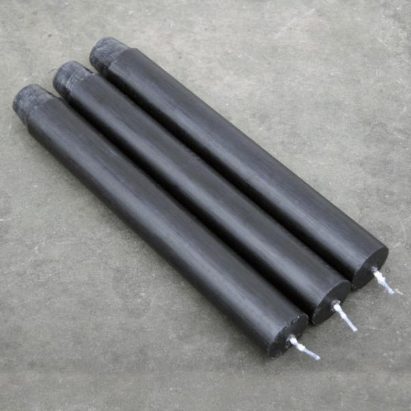 κεριά κηροπηγίου kerino σκούρο γκρί