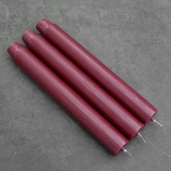 κεριά κηροπηγίου kerino κοκκινο