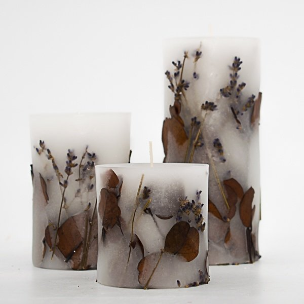 διακοσμητικά κεριά καλλιτεχνικά αρωματικά kerino botanical candles