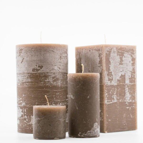 αρωματικά κεριά χειροποίητα kerino καφέ