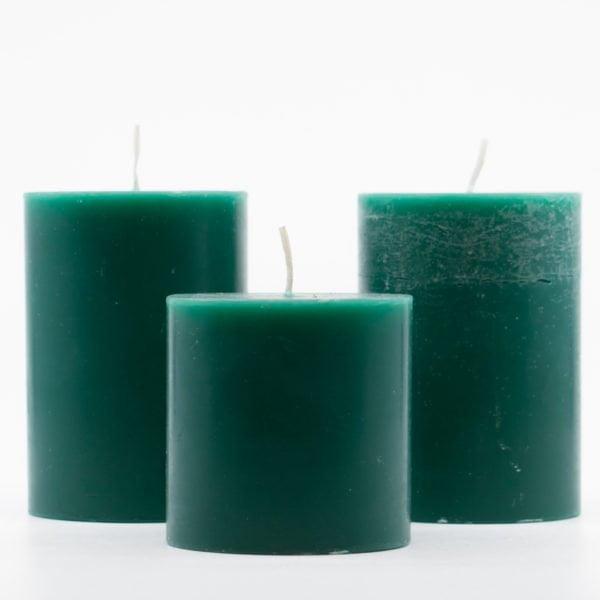 αρωματικά κεριά χειροποίητα kerino πράσσινο