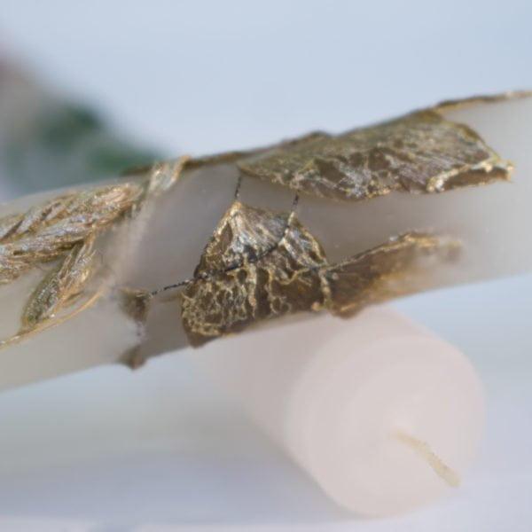 πασχαλινές αρωματικές λαμπάδες χειροποίητες με διάκοσμο καλλιτεχνικές kerino κεριά