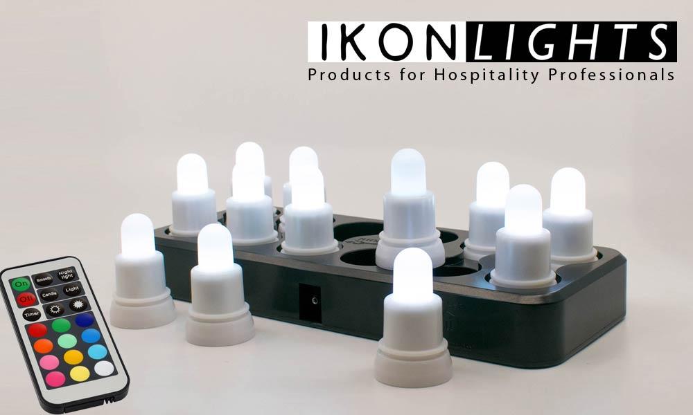 KERINO LED IKONLIGHTS κεριά για την εστίαση