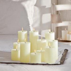 κορμοί κεριά kerino άοσμα