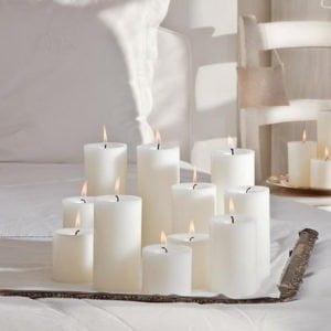 κορμοί κεριά kerino άοσμα χρωματιστά χειροποίητα κεριά