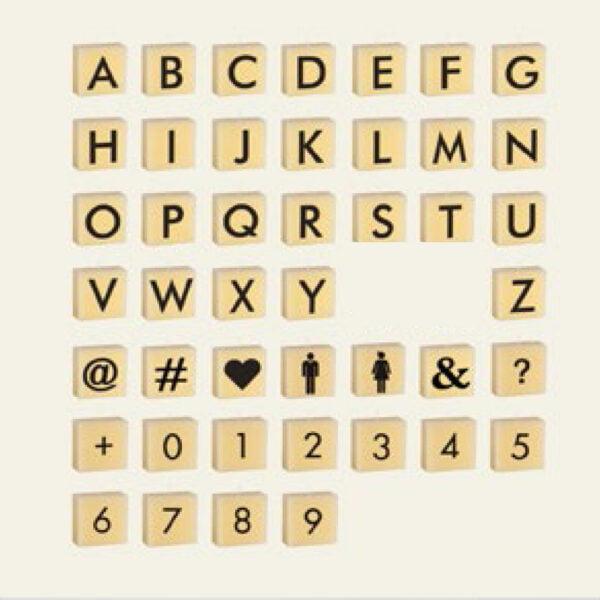 κέρινα γράμματα