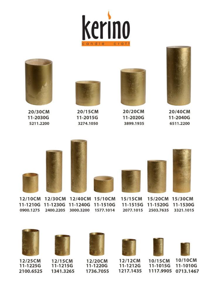 χρυσά κεριά φανάρια