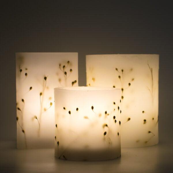 χειροποίητο κερί φανάρι κύτισος kerino