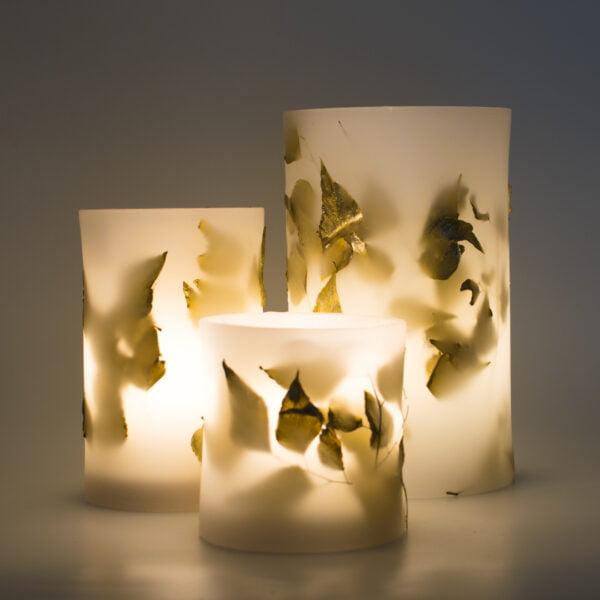 κερί φανάρι αδίαντος χρυσός
