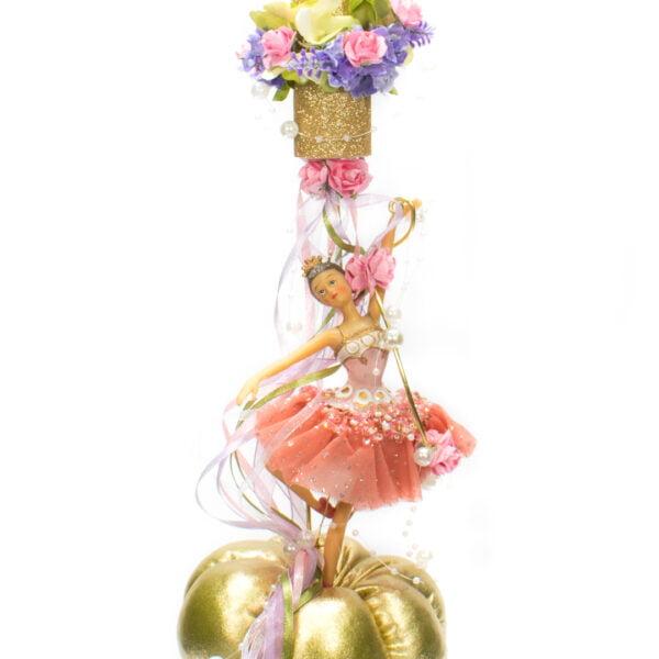 Λαμπάδα Πριγκίπισσα σε χρυσή κολοκύθα 4233 3072